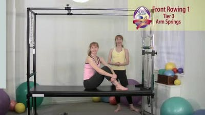 Instant Access to Front Rowing Series 1 and 2 by Pilates on Fifth, powered by Intelivideo