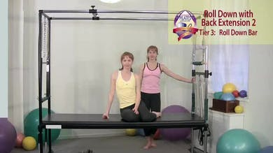 Roll Down with Back Extension 2 by Pilates on Fifth
