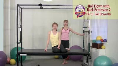 Instant Access to Roll Down with Back Extension 2 by Pilates on Fifth, powered by Intelivideo