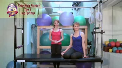 Side Kick Stretch by Pilates on Fifth