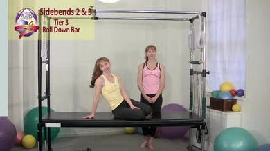 Sidebends 2 and 3 by Pilates on Fifth