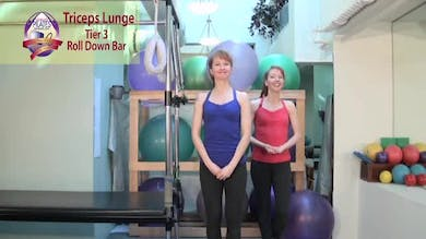 Triceps Lunge by Pilates on Fifth