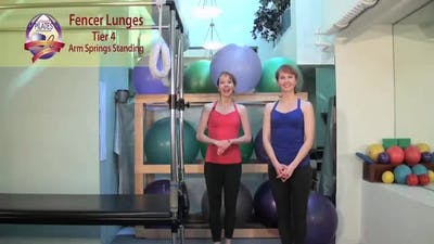 Fencer Lunges by Pilates on Fifth