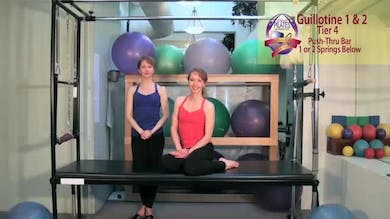 Guillotine 1 and 2 by Pilates on Fifth