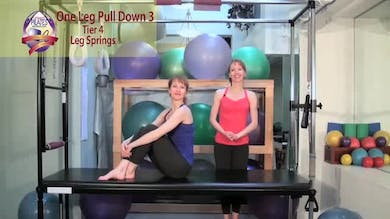 One Leg Pull Down 3 by Pilates on Fifth