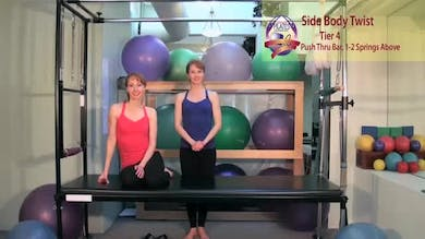 Side Body Twist by Pilates on Fifth