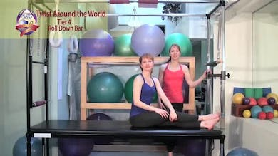 Twist Around the World by Pilates on Fifth