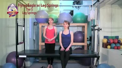 Flying Eagle with Leg Springs by Pilates on Fifth