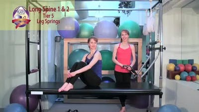 Long Spine 1 and 2 by Pilates on Fifth