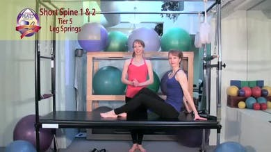 Short Spine 1 and 2 by Pilates on Fifth