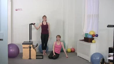 Adductor Press Pilates Exercise by Pilates on Fifth