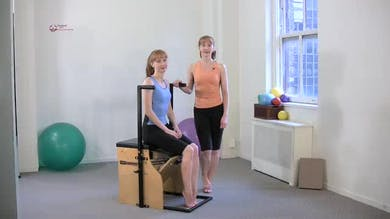 Footwork by Pilates on Fifth