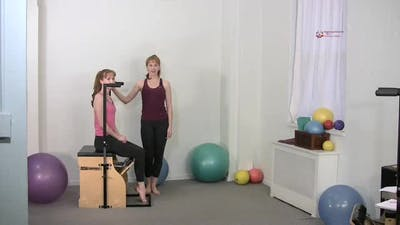 Instant Access to Footwork Single Leg by Pilates on Fifth, powered by Intelivideo
