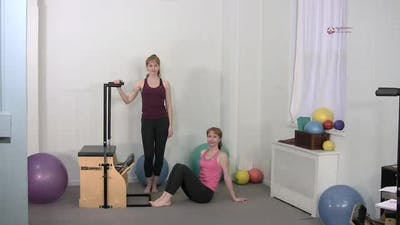 Instant Access to Hamstring Press Hip Down by Pilates on Fifth, powered by Intelivideo