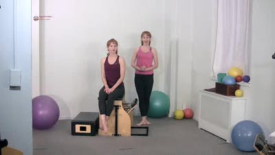 Torso Press Sitting 1 by Pilates on Fifth