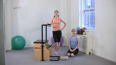 Triceps Press Sitting 1 by Pilates on Fifth