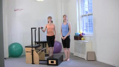 Foot Press on Long Box by Pilates on Fifth