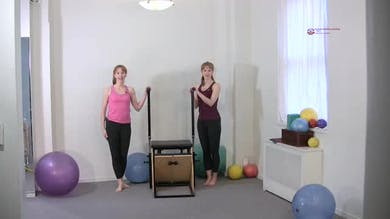 Scapula Isolations Standing by Pilates on Fifth