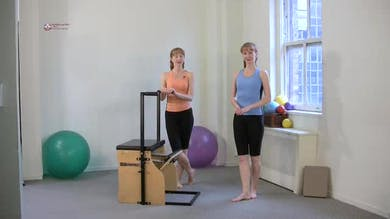 Standing Leg Press by Pilates on Fifth