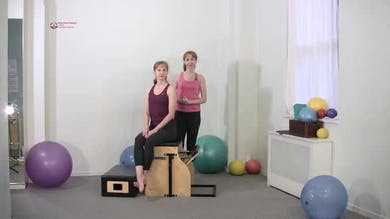 Torso Press Sitting 2 by Pilates on Fifth