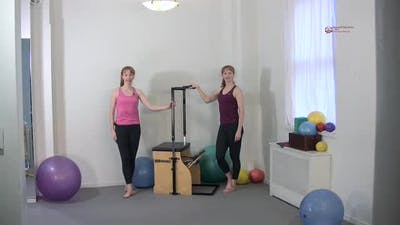 Instant Access to Backward Step Down by Pilates on Fifth, powered by Intelivideo