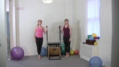 Instant Access to Forward Step Down by Pilates on Fifth, powered by Intelivideo
