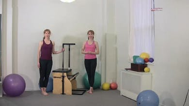 Forward Step Up by Pilates on Fifth