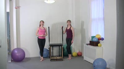 Instant Access to Knee Raises by Pilates on Fifth, powered by Intelivideo
