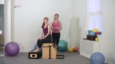 Torso Press Sitting 3 by Pilates on Fifth