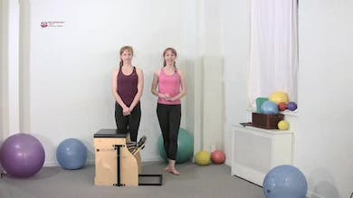 Side Leg Extension 1 by Pilates on Fifth