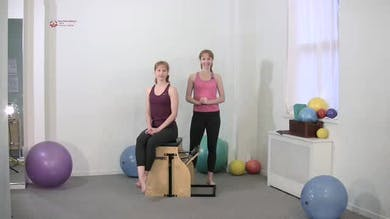 Torso Press Sitting 4 by Pilates on Fifth