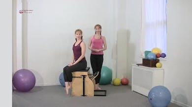Torso Press Sitting 5 by Pilates on Fifth