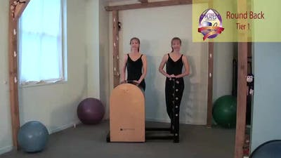 Instant Access to Round Back on the Ladder Barrel by Pilates on Fifth, powered by Intelivideo