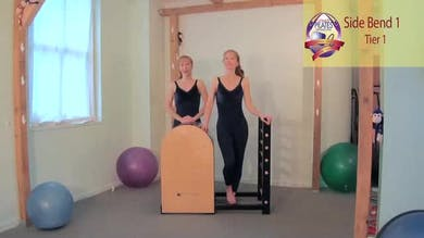 Side Bends 1 on the Ladder Barrel by Pilates on Fifth