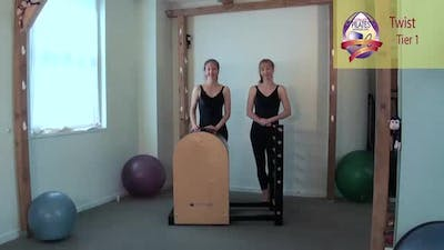 Instant Access to Twist on the Ladder Barrel by Pilates on Fifth, powered by Intelivideo