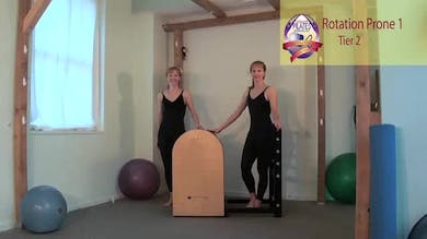 Rotation Prone 1 on the Ladder Barrel by Pilates on Fifth