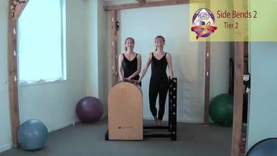Instant Access to Side Bends 2 on the Ladder Barrel by Pilates on Fifth, powered by Intelivideo