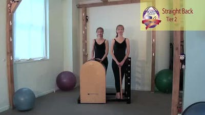 Instant Access to Straight Back on the Ladder Barrel by Pilates on Fifth, powered by Intelivideo
