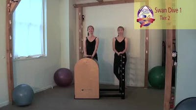 Instant Access to Swan Dive 1 on the Ladder Barrel by Pilates on Fifth, powered by Intelivideo