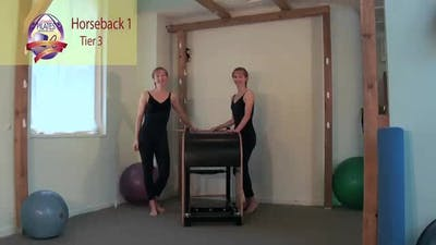 Horseback 1 on the Ladder Barrel by Pilates on Fifth