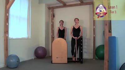 Instant Access to Lean 1 on the Ladder Barrel by Pilates on Fifth, powered by Intelivideo