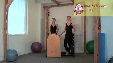 Lower and Lift Seated on the Ladder Barrel by Pilates on Fifth