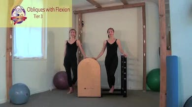Obliques with Flexion on the Ladder Barrel by Pilates on Fifth