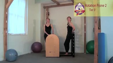 Rotation Prone 2 on the Ladder Barrel by Pilates on Fifth