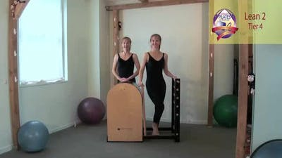 Instant Access to Lean 2 on the Ladder Barrel by Pilates on Fifth, powered by Intelivideo