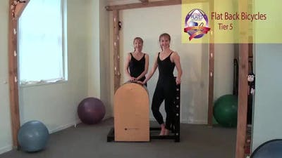 Instant Access to Flat Back Bicycles by Pilates on Fifth, powered by Intelivideo