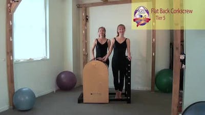 Flat Back Corkscrew by Pilates on Fifth