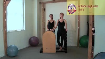 Flat Back Leg Circls by Pilates on Fifth
