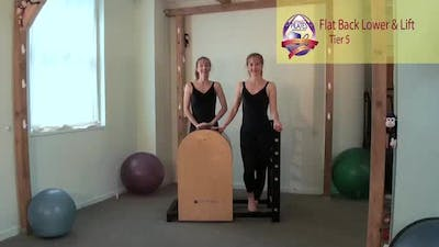 Instant Access to Flat Back Lower and Lift by Pilates on Fifth, powered by Intelivideo