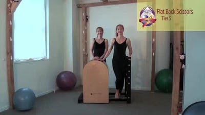 Flat Back Scissors by Pilates on Fifth